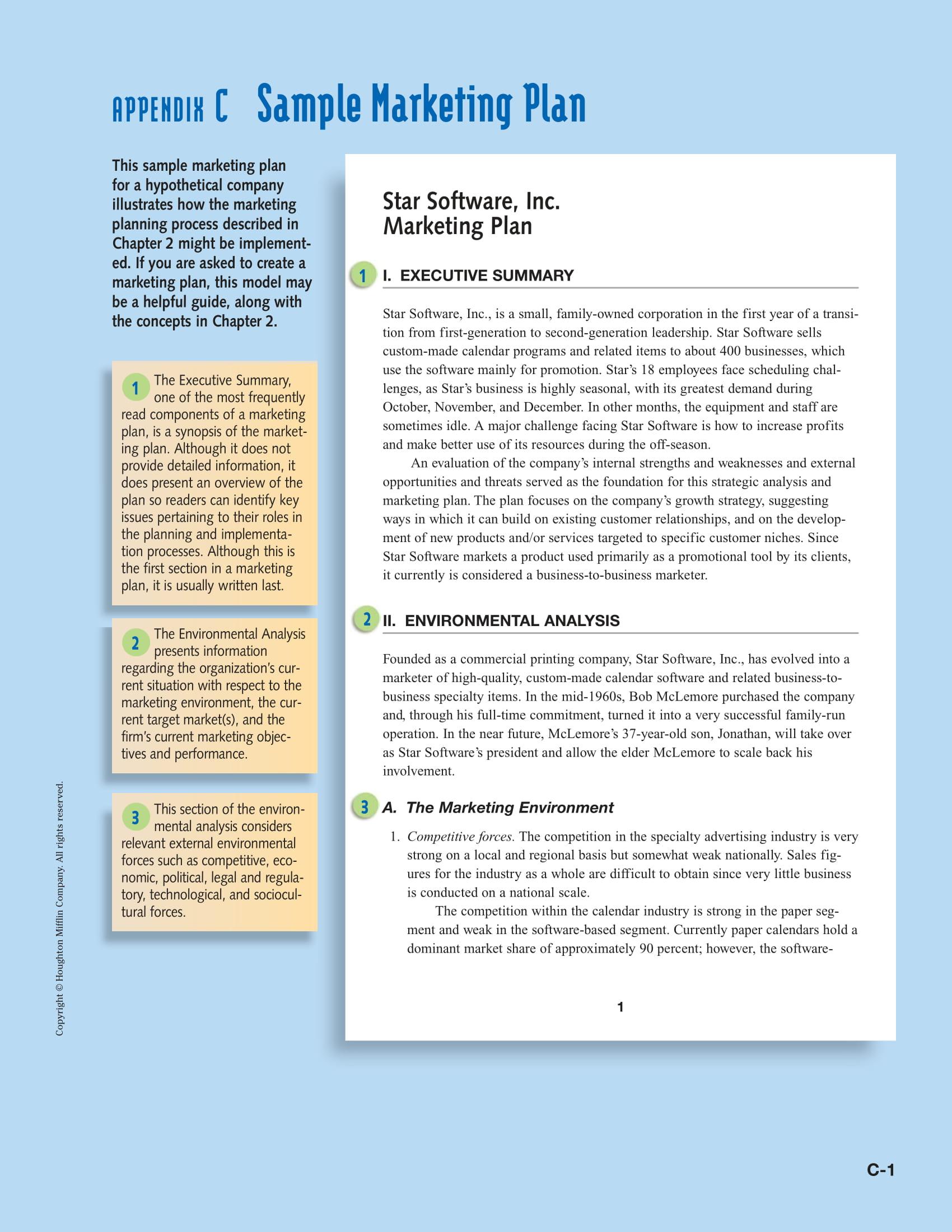 strategic marketing plan format example 01