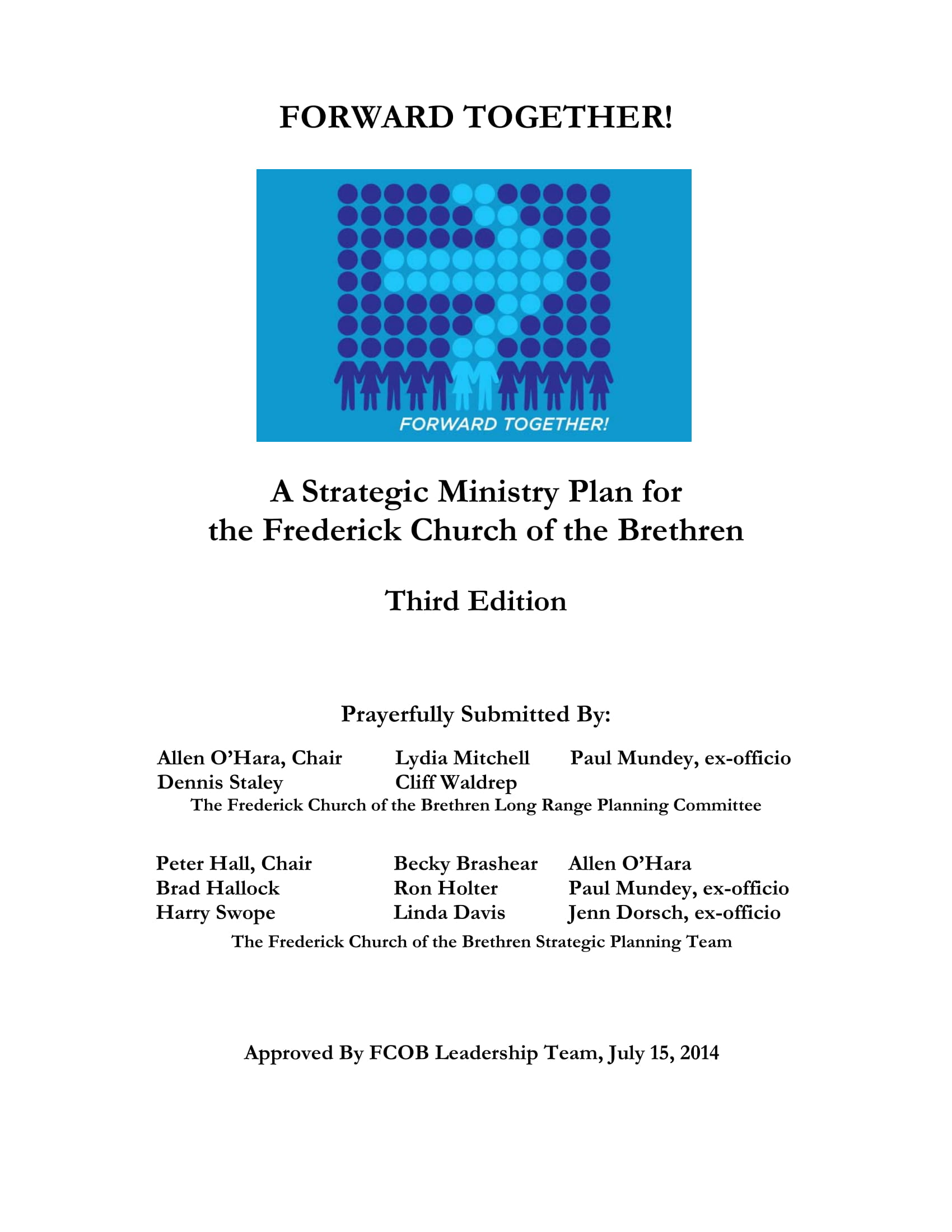 strategic ministry plan for a church example 01