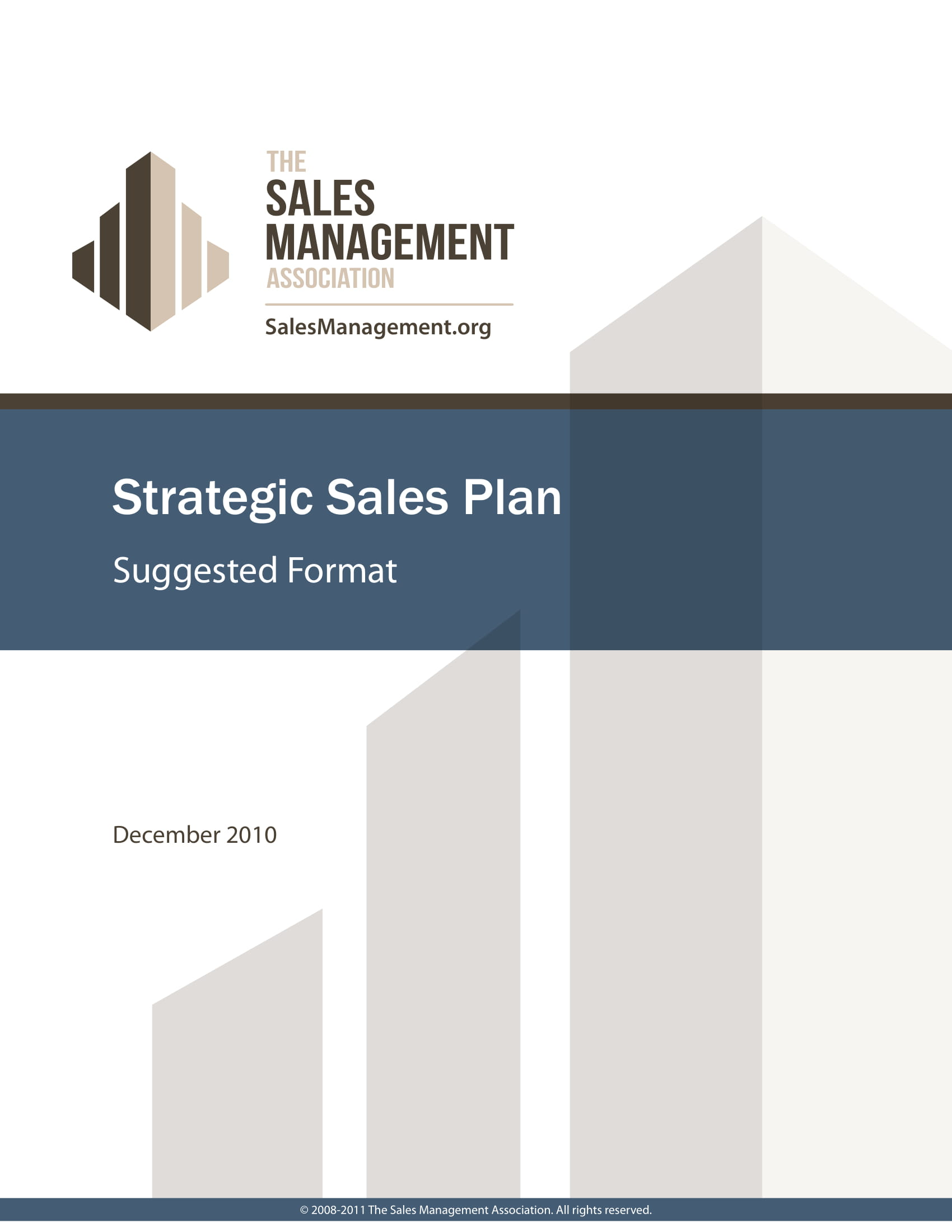 strategic sales plan for sales manager example 1