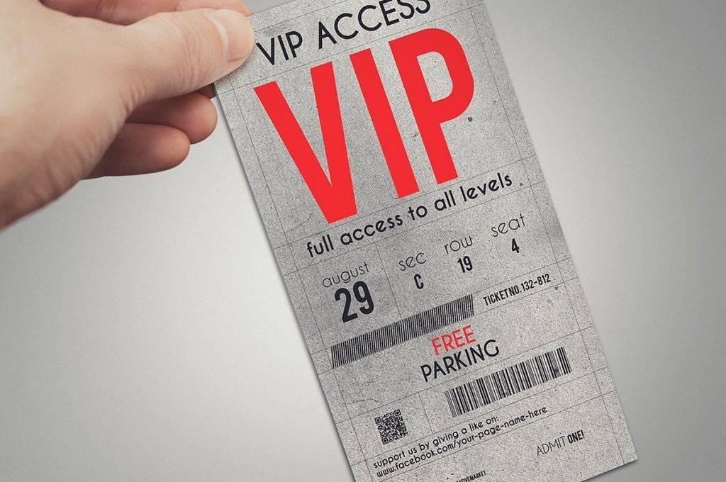 stylish vip event ticket example 1024x680