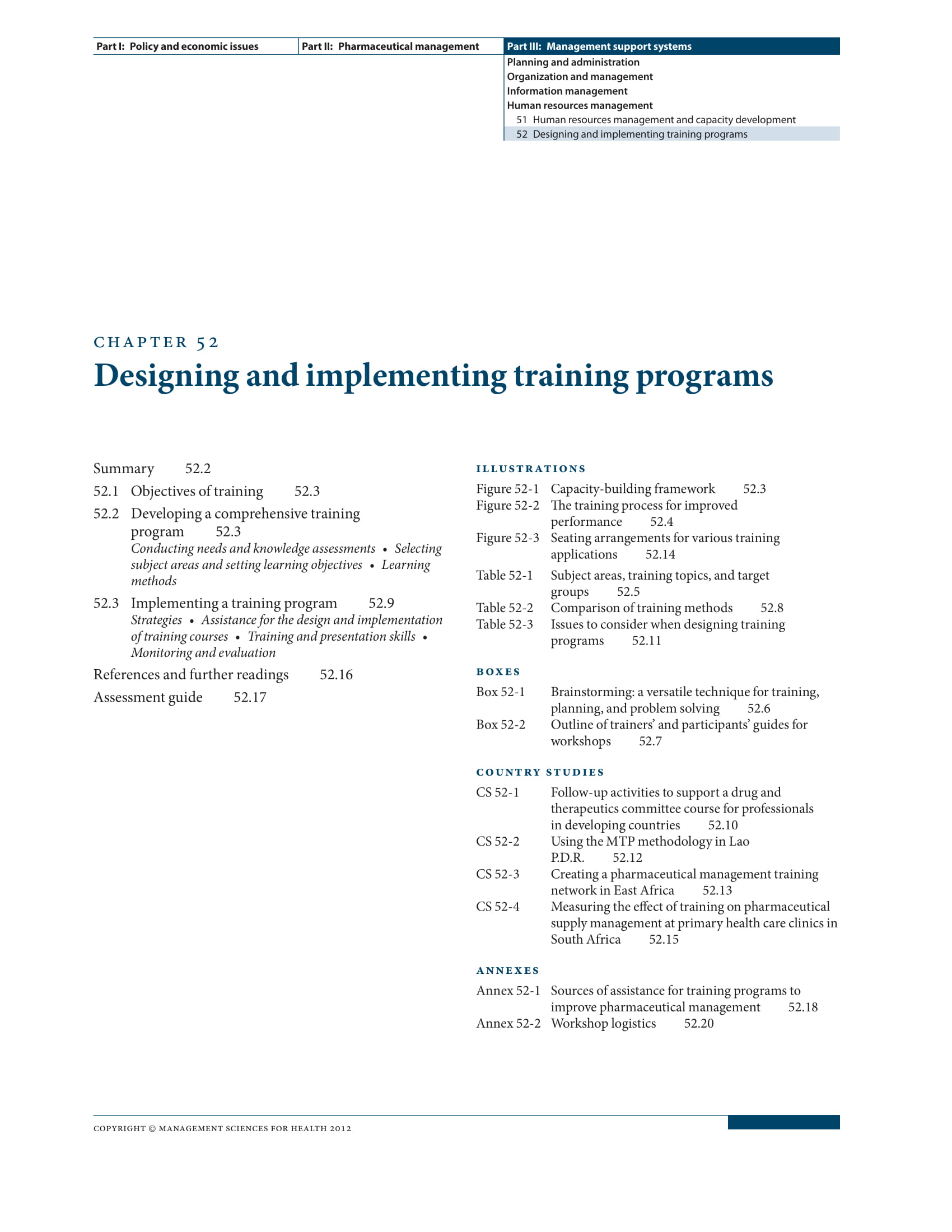 training project plan design and implementation guides example 01
