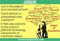 understanding jargon