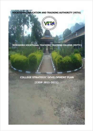 vocational teachers training college swot analysis example