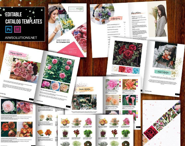 wholesale flower catalog example