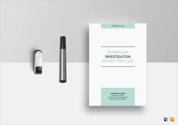 workplace investigation report design example