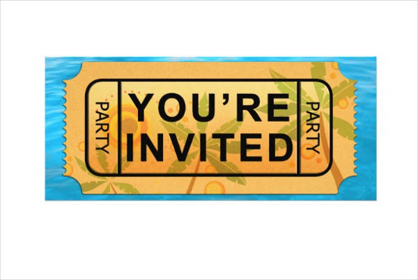 10 summer party ticket designs examples psd ai