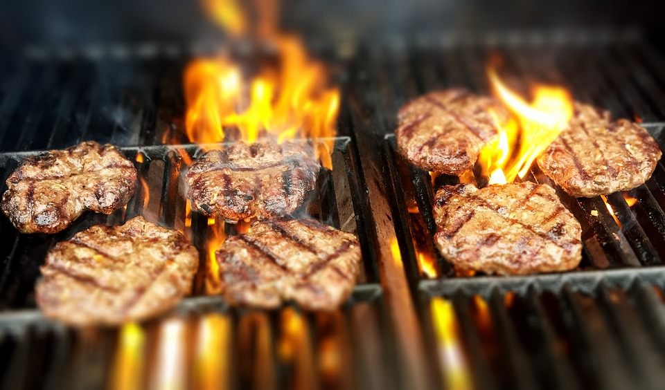 delicious grilled food