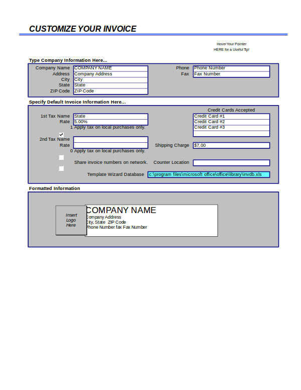 Free Invoice For Excel Examples XLS - Rent invoice template free online candy store