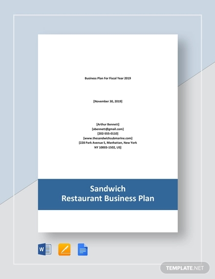 sandwich restaurant business