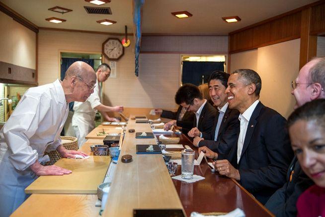 sukiyabashi jiro obama