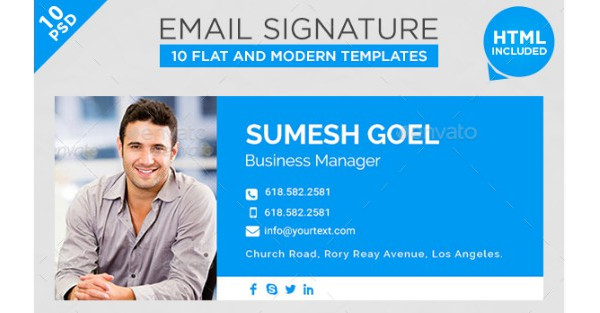 10 new formal email signature example1