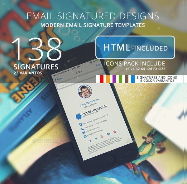 138 email signature designs1