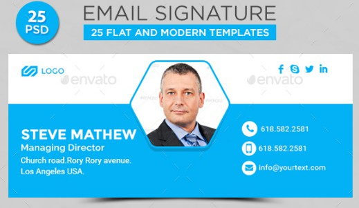 25 electronic store email signature example