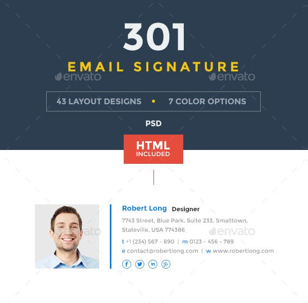 301 innovative email signatures bundle1