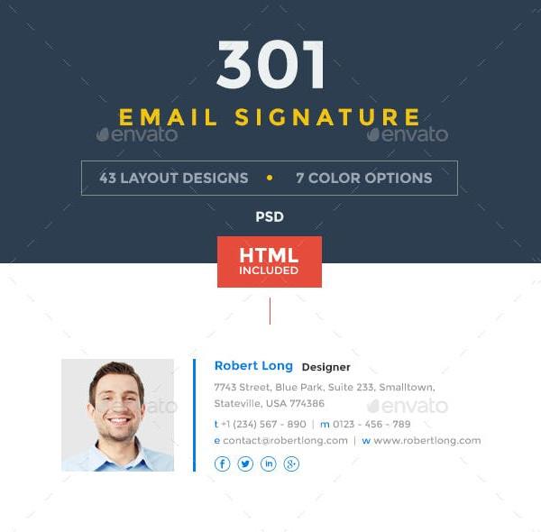 301 innovative email signatures bundle1