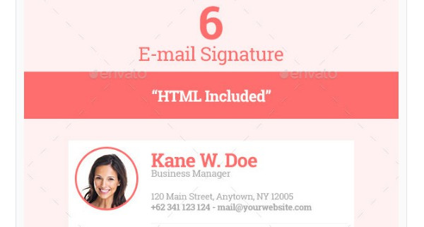 6 formal email signature example1