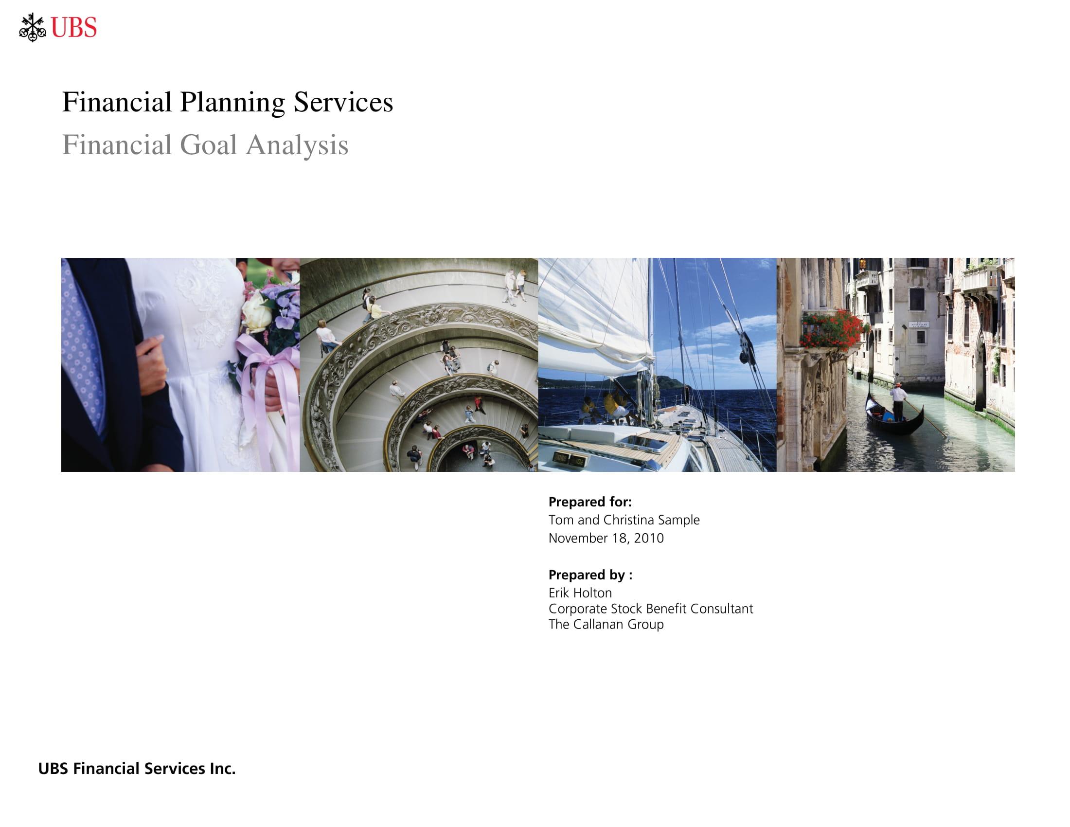 artg financial goal analysis