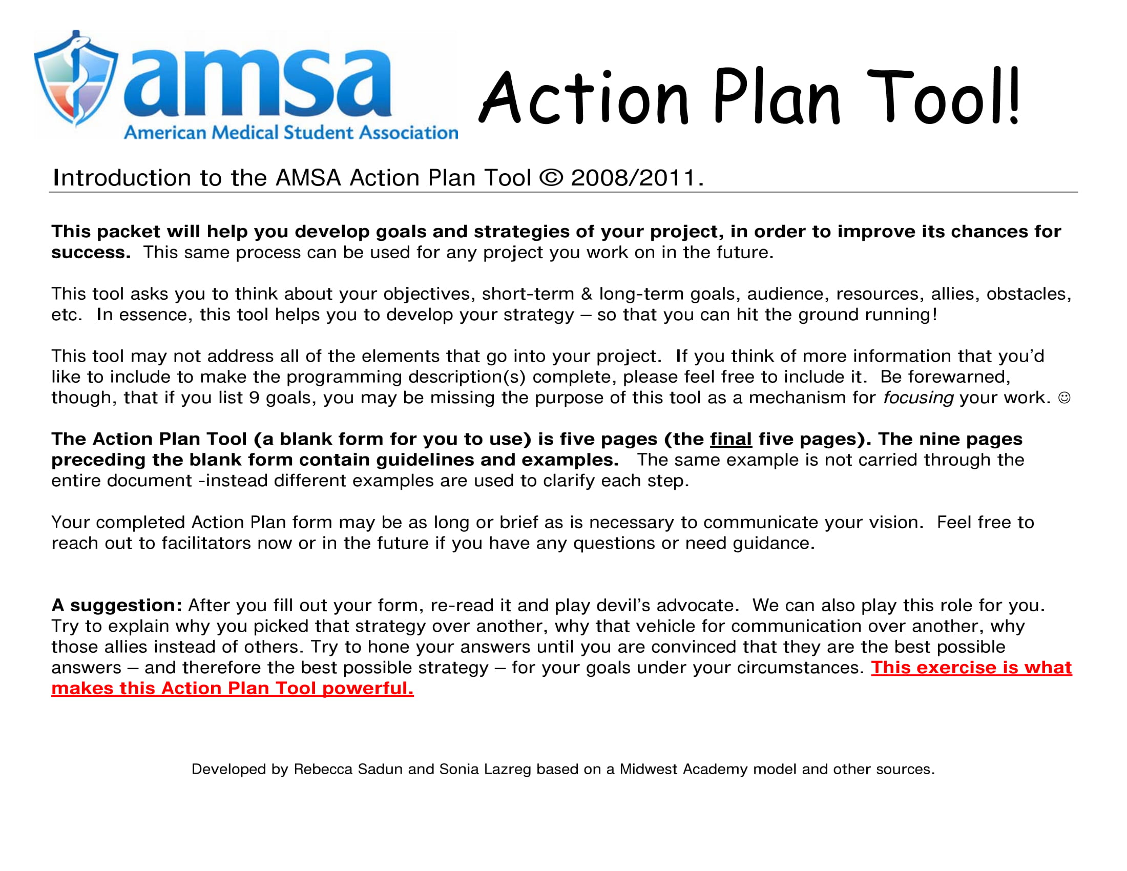 action plan tool for project management example 01