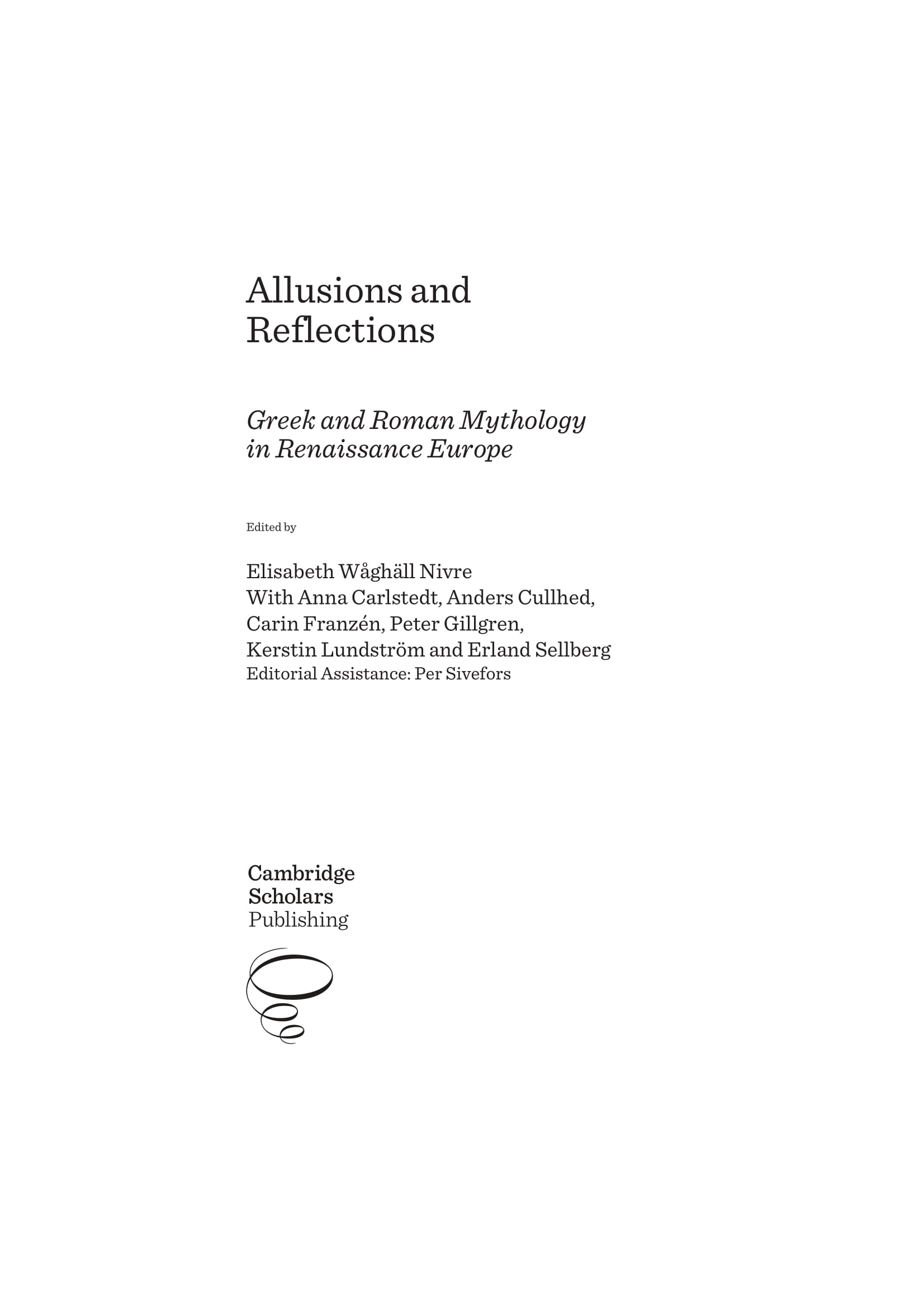 allusions and reflections example