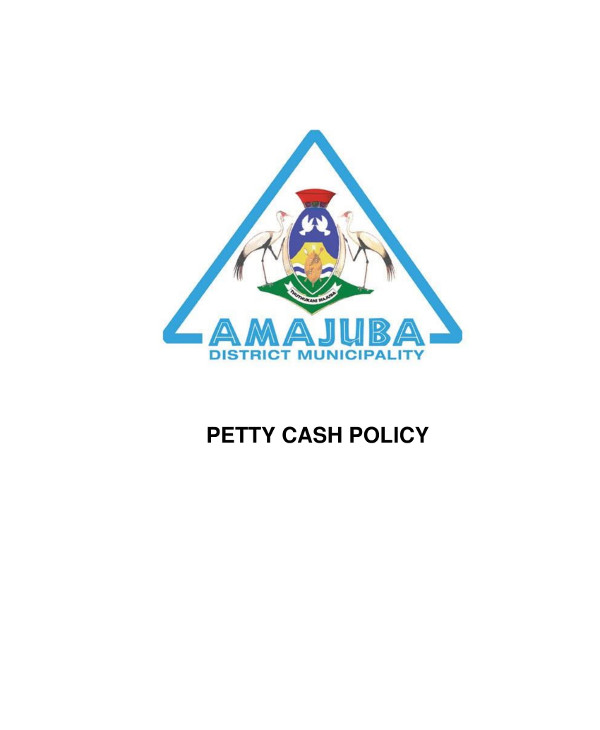 amajuba petty cash example