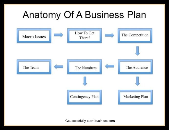 anatomy of a business project plan