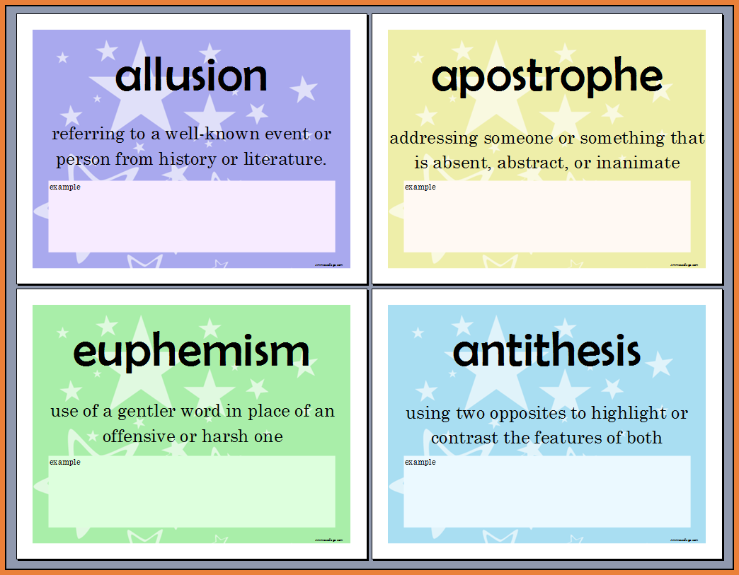 apostrophe as a figure of speech