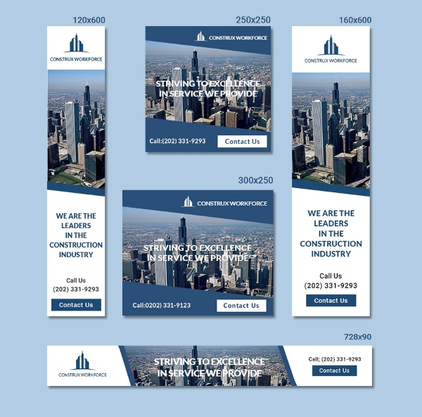 architecture ad banner template1