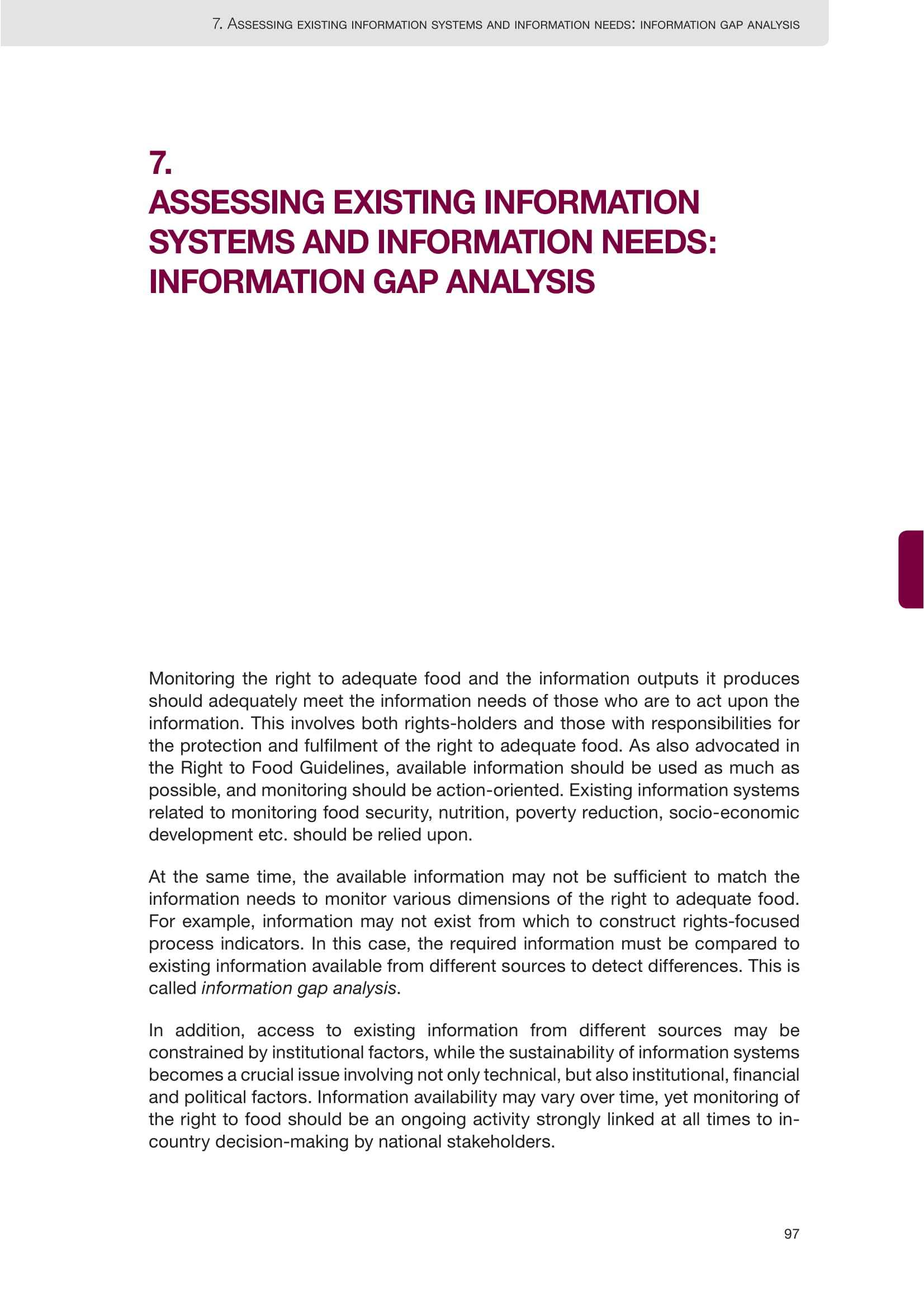 assessing existing information systems and information needs information gap analysis example 01