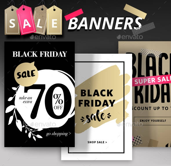 black friday social media banner example