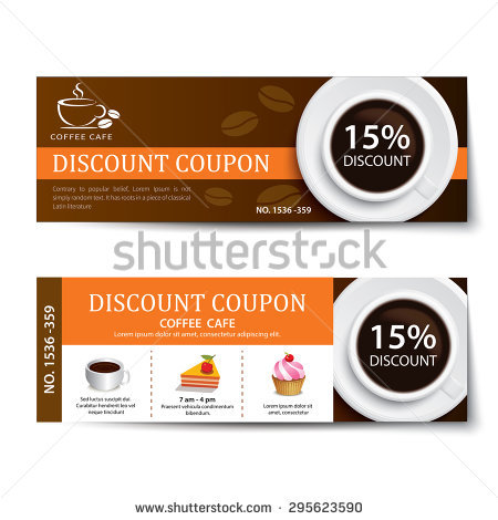 breakfast coffee coupon example