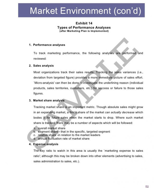 business assessment and market analysis1