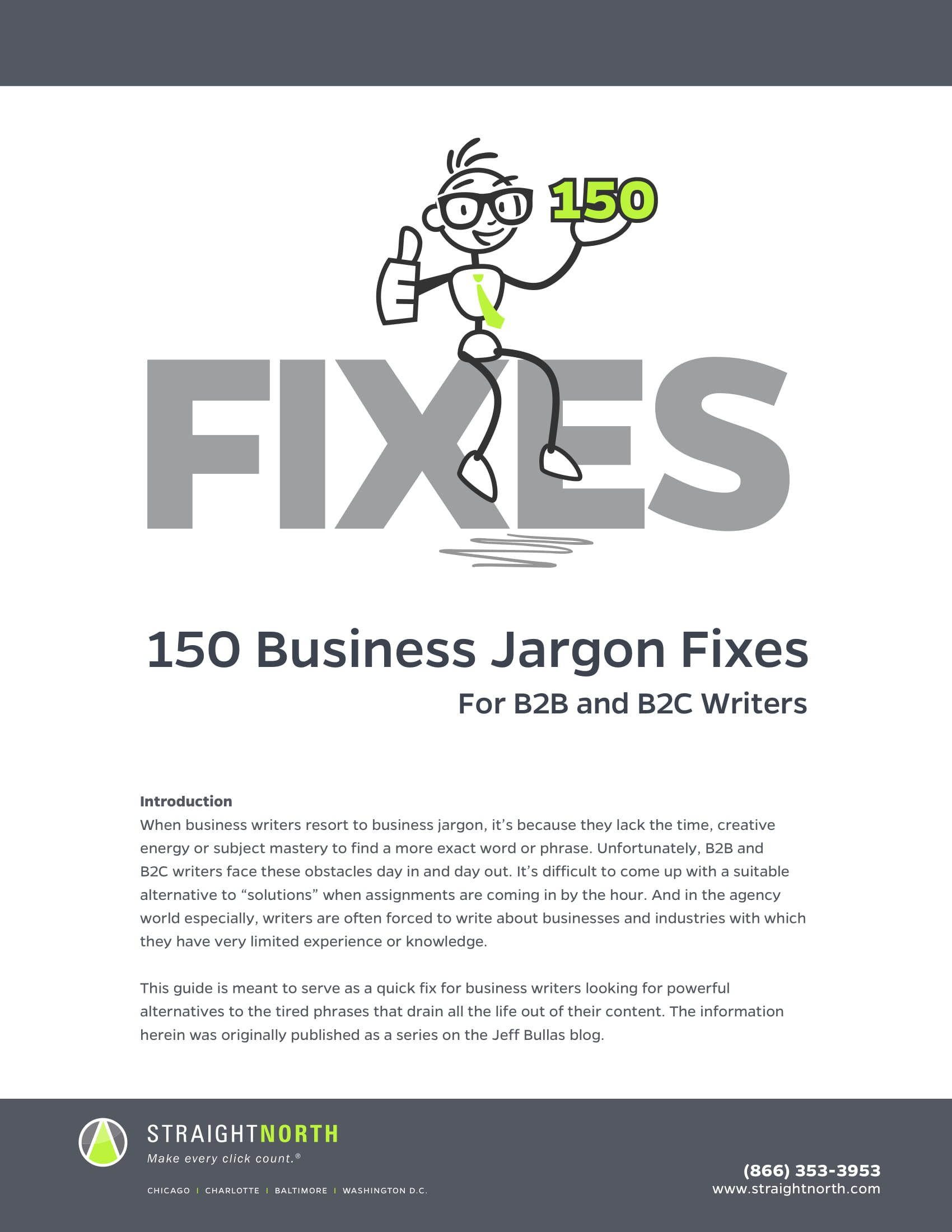 business jargon fixes example