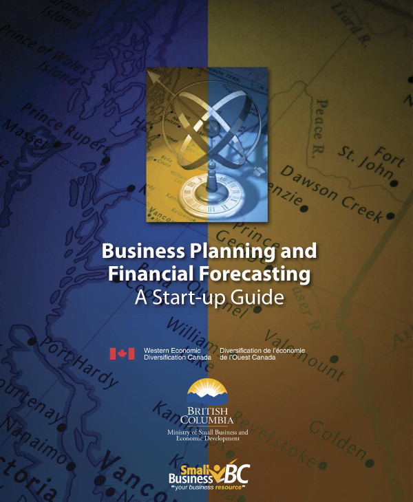 business planning and financial forecasting start up guide example