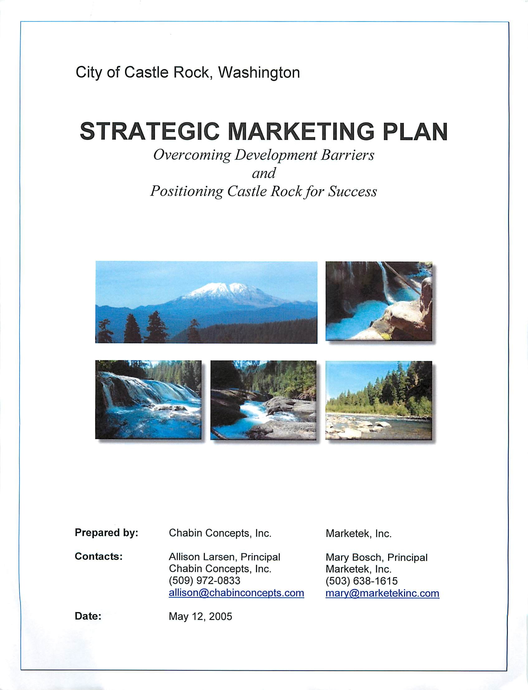 crs trategic marketing plan
