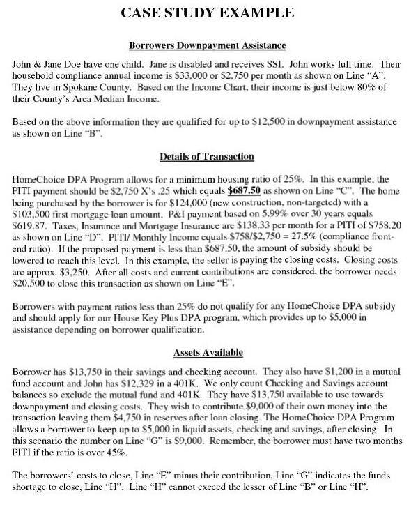 case study analysis example1