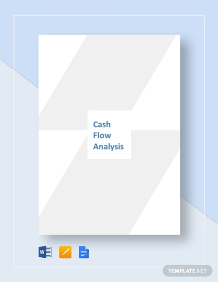 cash flow analysis template1