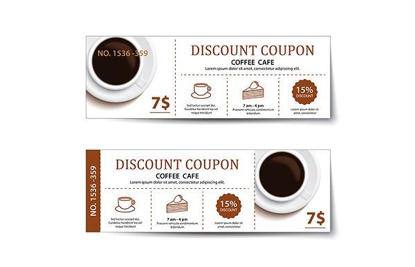 coffee discount voucher example