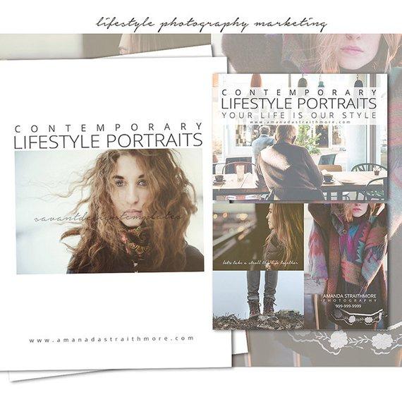 contemporary portraits luxury lifestyle magazine example