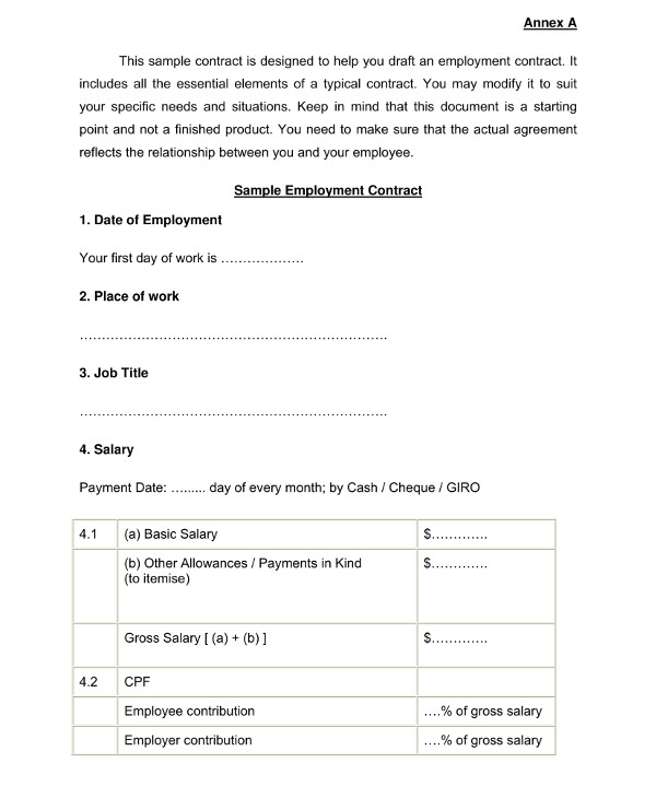 contract worker contract template1