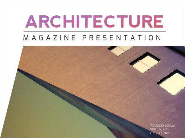 creative architecture magazine example