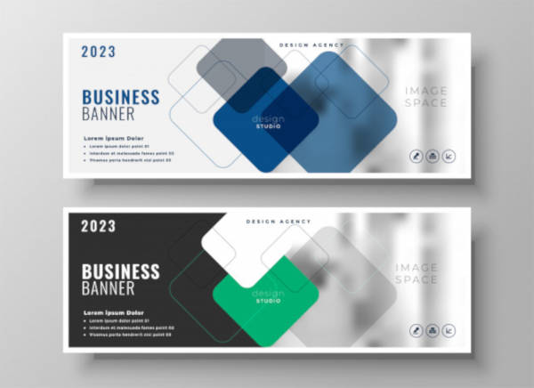 creative corporate business banner design