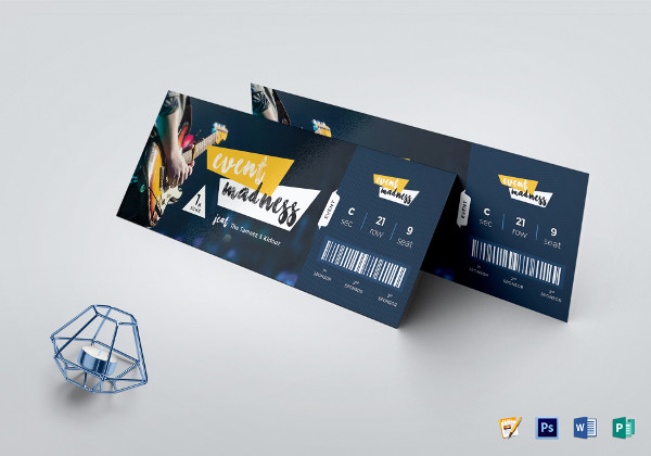 creative event ticket template1