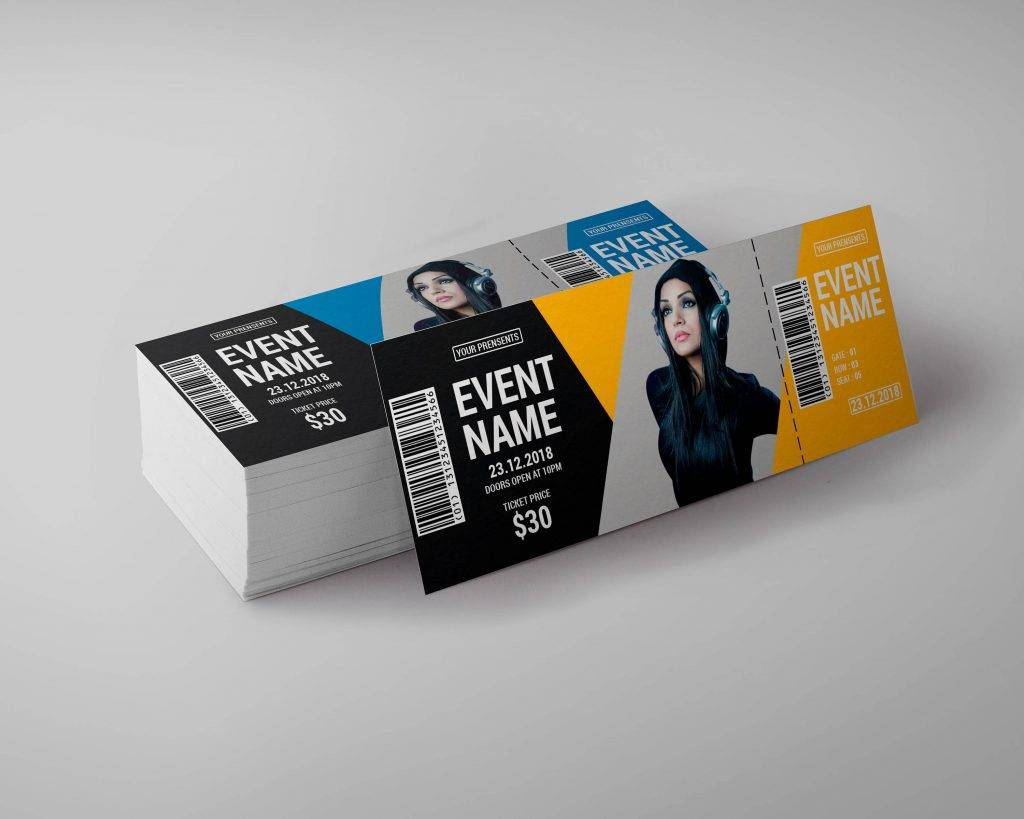 creative music event ticket example 1024x819