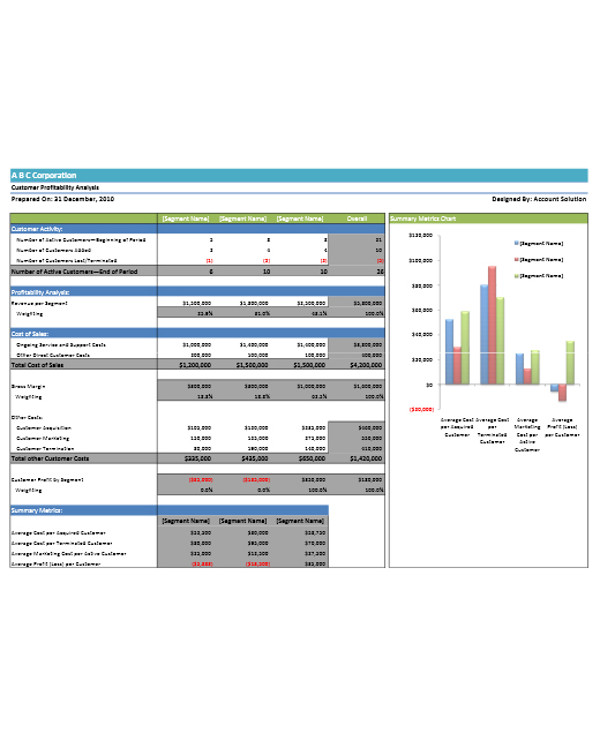 customer profitability analysis report1