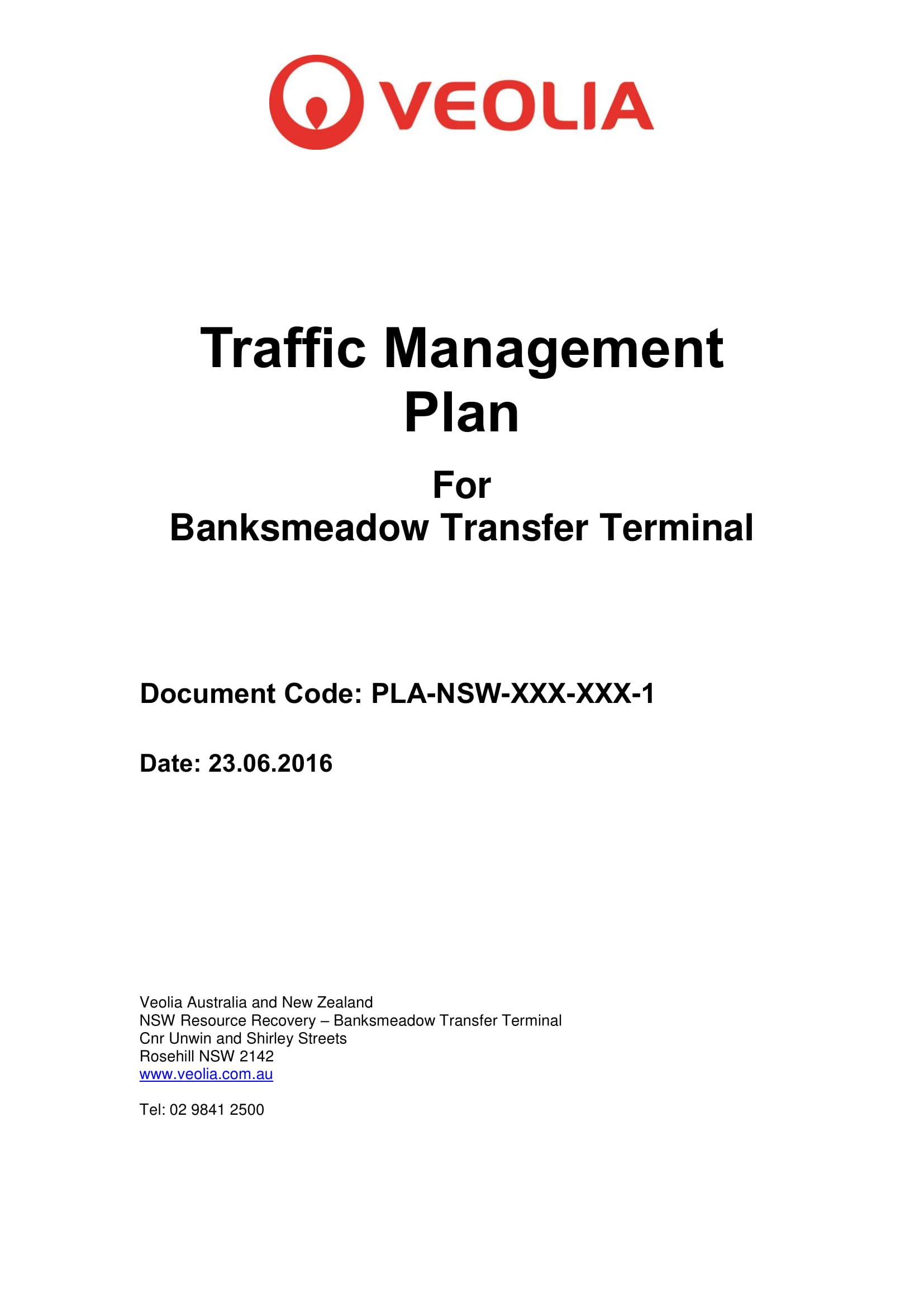 d3 traffic management plan btt oemp