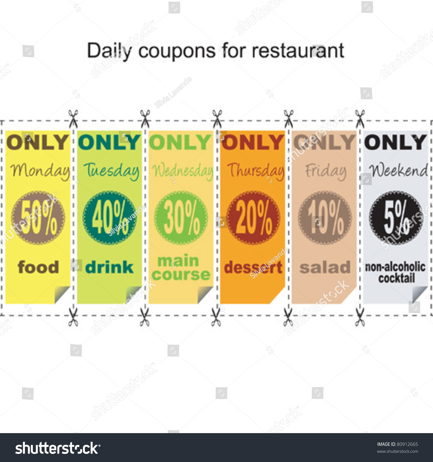 daily coupon for restaurant breakfast example