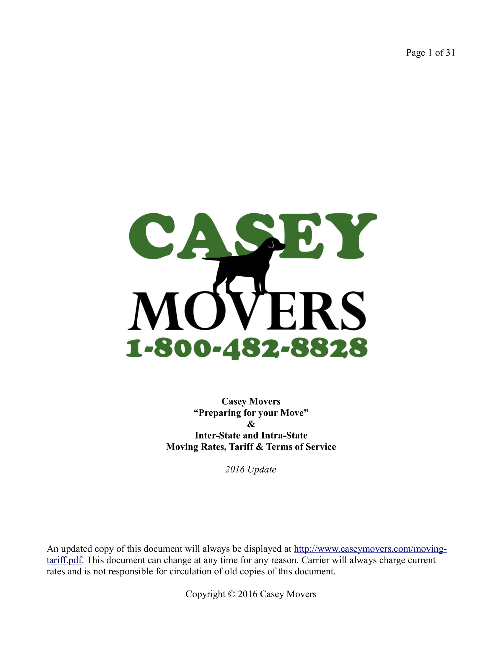 detailed moving company contract template example 01