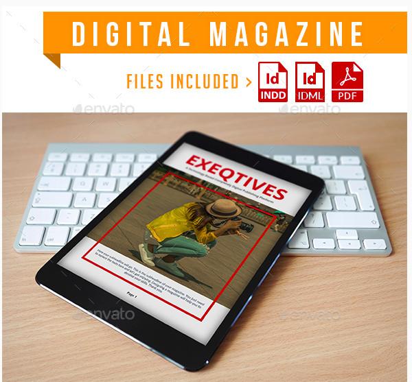 digital magazine example