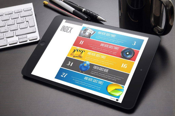 digital magazine for tablet example1