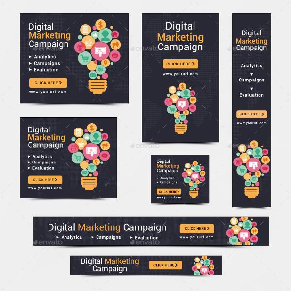 digital marketing banner example